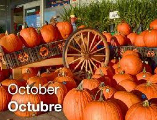 Important October Dates/ Fechas Importantes de octubre